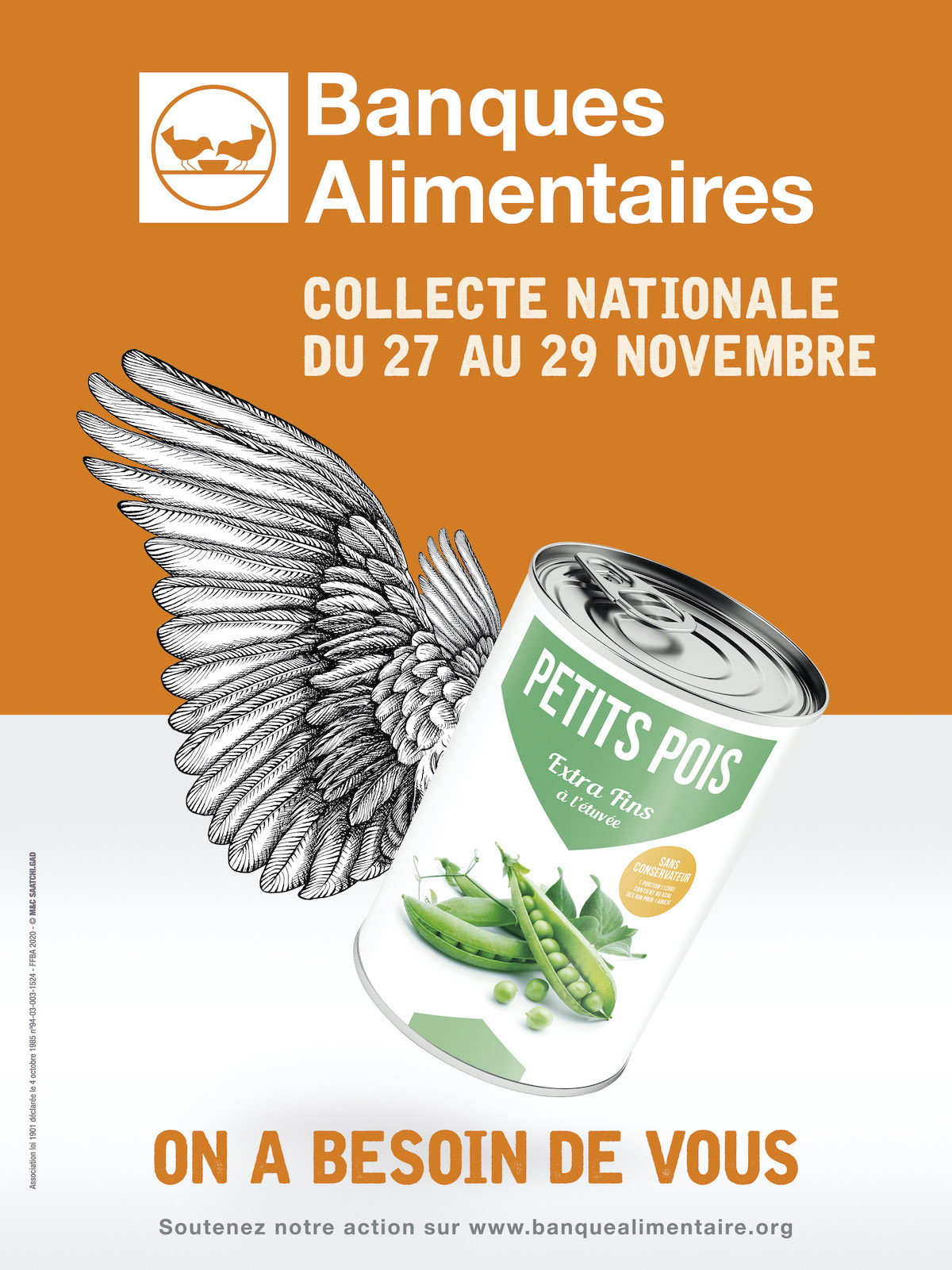 Collecte nationale Banque Alimentaire