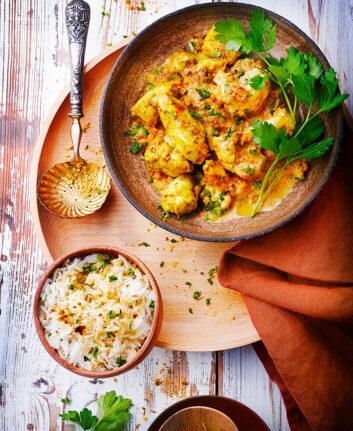 Dahl de lentilles corail au poulet