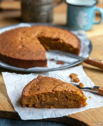 Gâteau facile à la vanille et au rhum