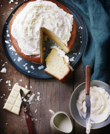 Gâteau mexicain aux trois laits (pastel de tres leches)