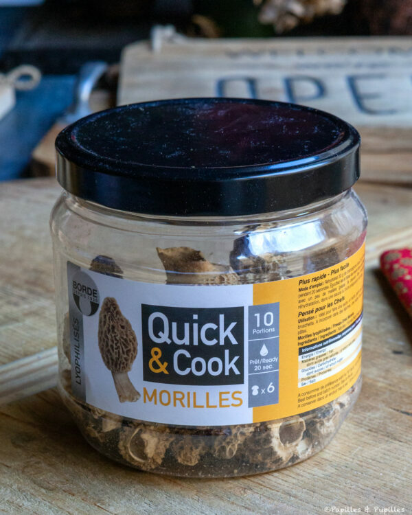 Morilles Quick and Cook Borde