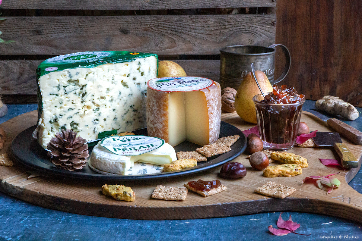 Plateau de fromages de brebis