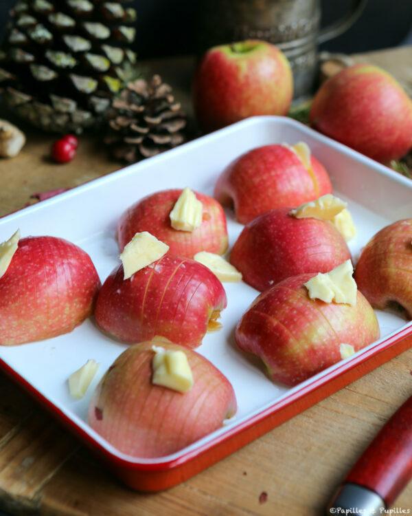 Pommes avec beurre