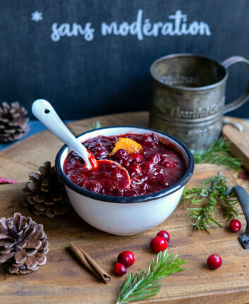 Sauce aux cranberries