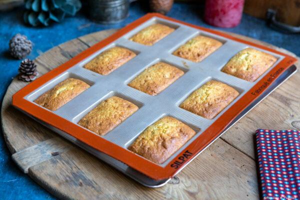 Mini cakes après cuisson