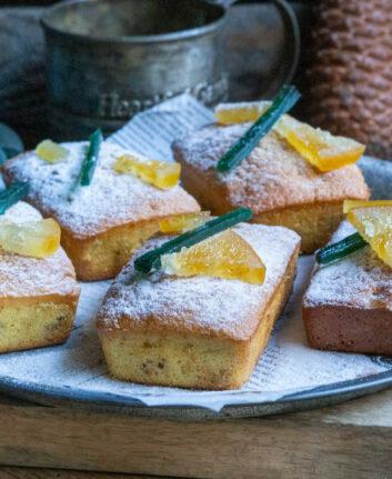 Mini cakes de Noël