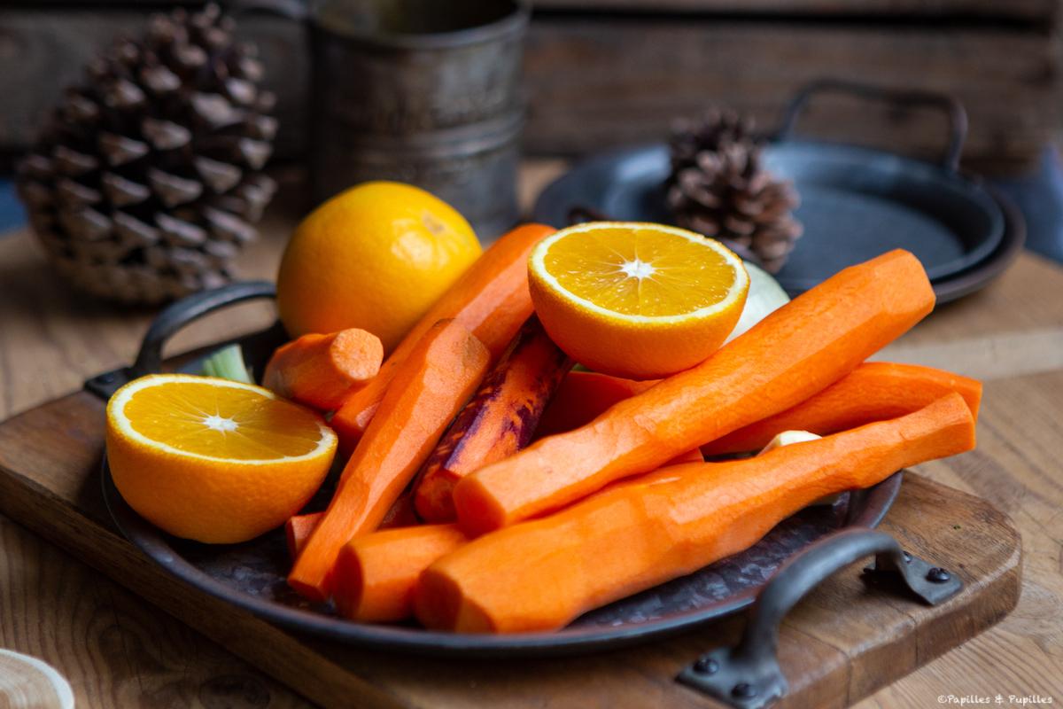 Oranges et carottes