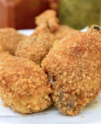 Poulet frit maison