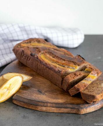 Banana bread sans gluten ©labandelyonnaise