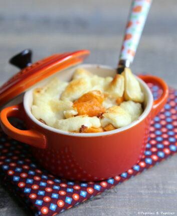 Chaussiflette aux patates douces noix et piment d'Espelette