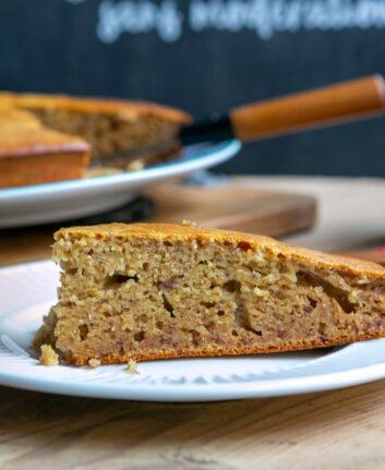 Gâteau à la purée de datte