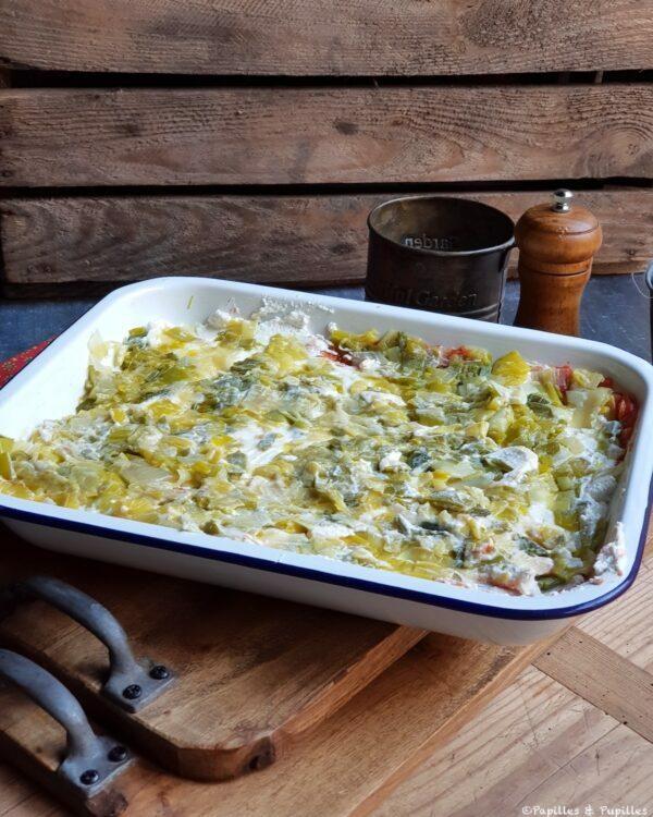 Lasagnes 2è couche poireaux