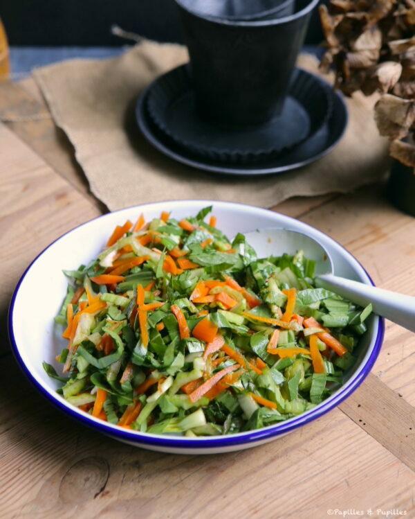 Mélange chou carottes