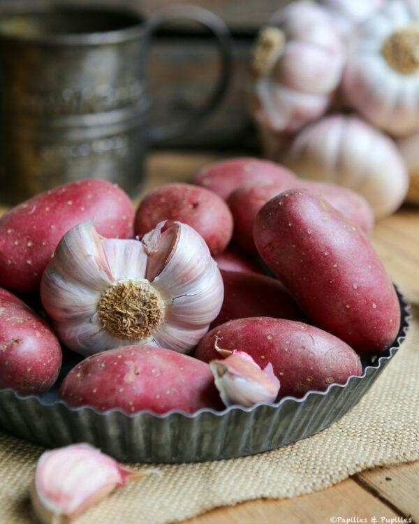 Pommes de terre et ail rose de Lautrec