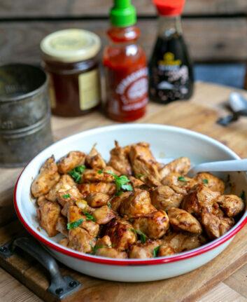 Blancs de poulet sauce soja cuits