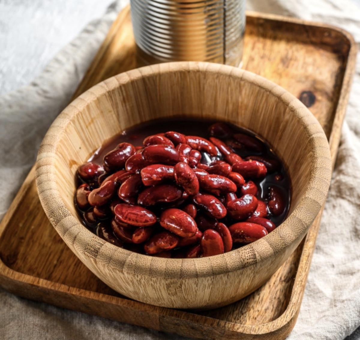 Conserve de haricots rouges CC0 freepik
