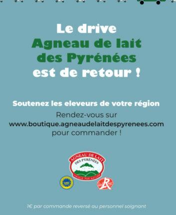 Drive agneau de lait des Pyrénées