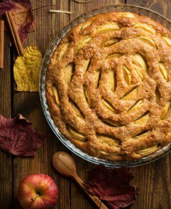 Gâteau aux pommes ©david-fedulo unsplash
