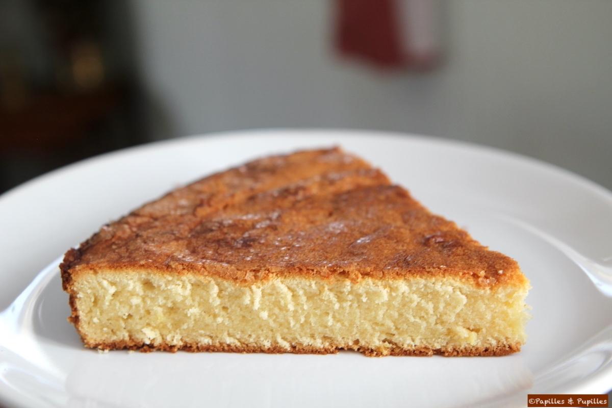 Gâteau nature moelleux ©PapillesetPupilles
