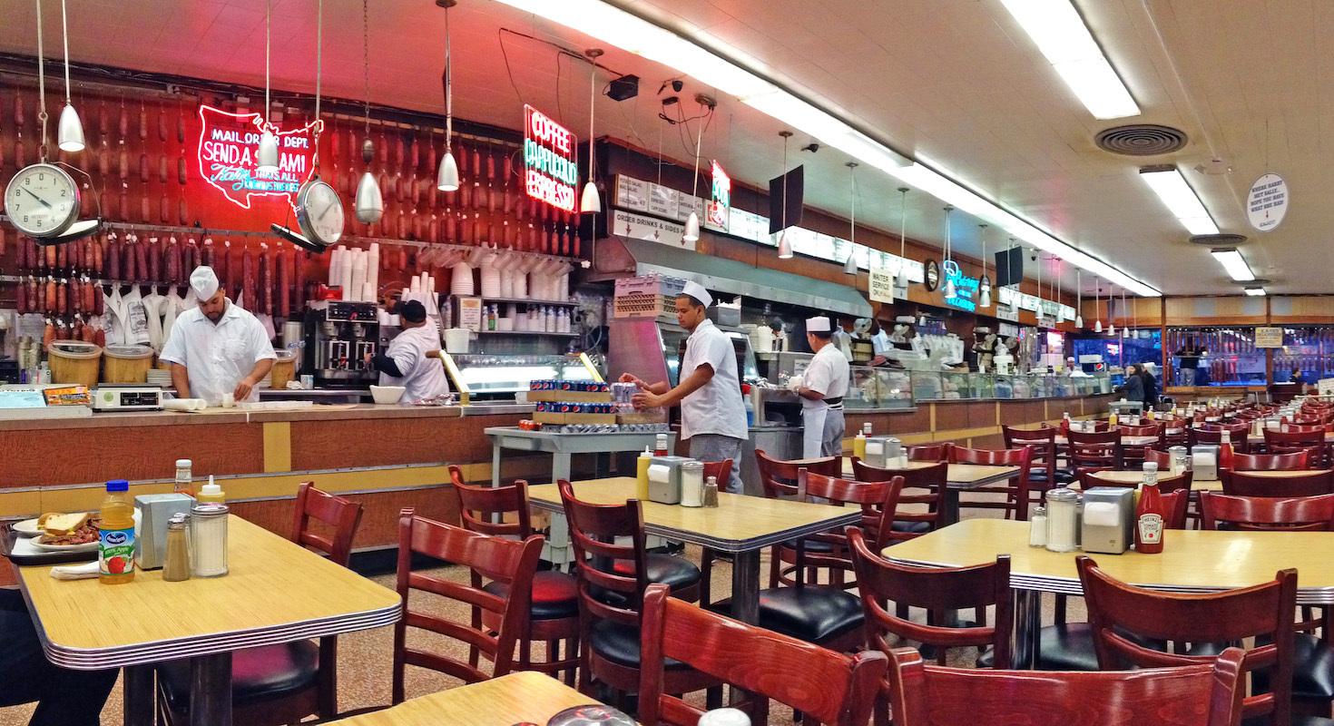 Chez Katz - New York ©Urbankayaker CC BY-SA 4.0