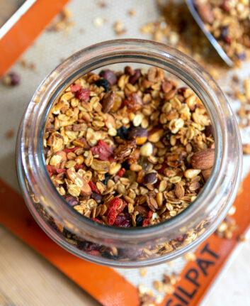 Granola maison aux fruits secs
