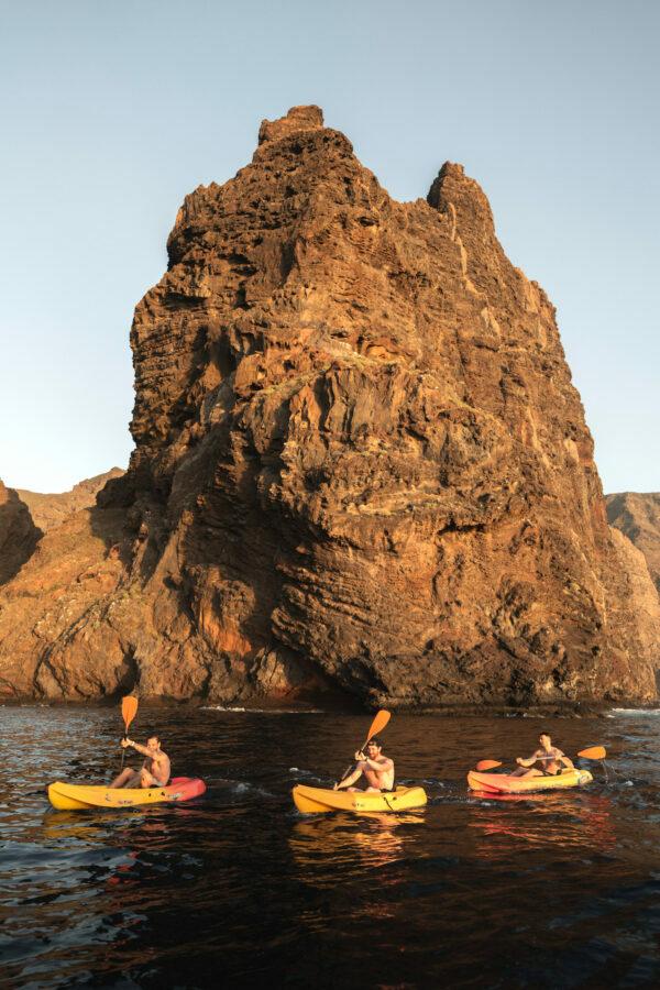Kayak Acantilado Los Gigantes