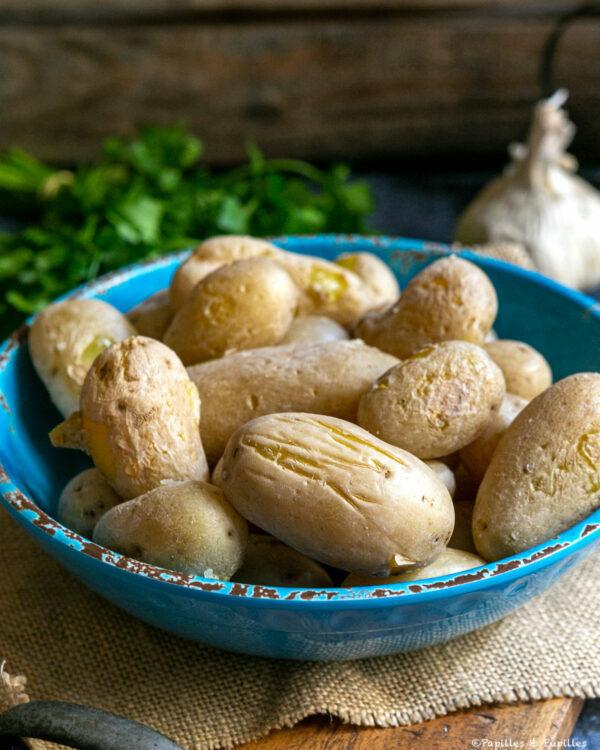 Pommes de terre ridées