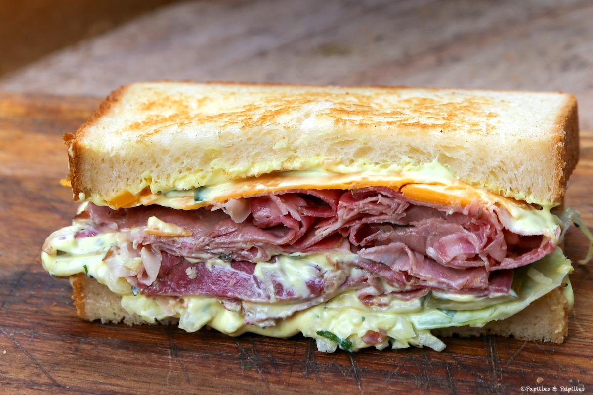 Sandwich au Pastrami des Fred's