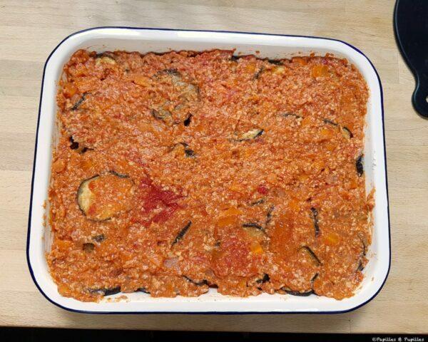 2è couche de sauce tomate