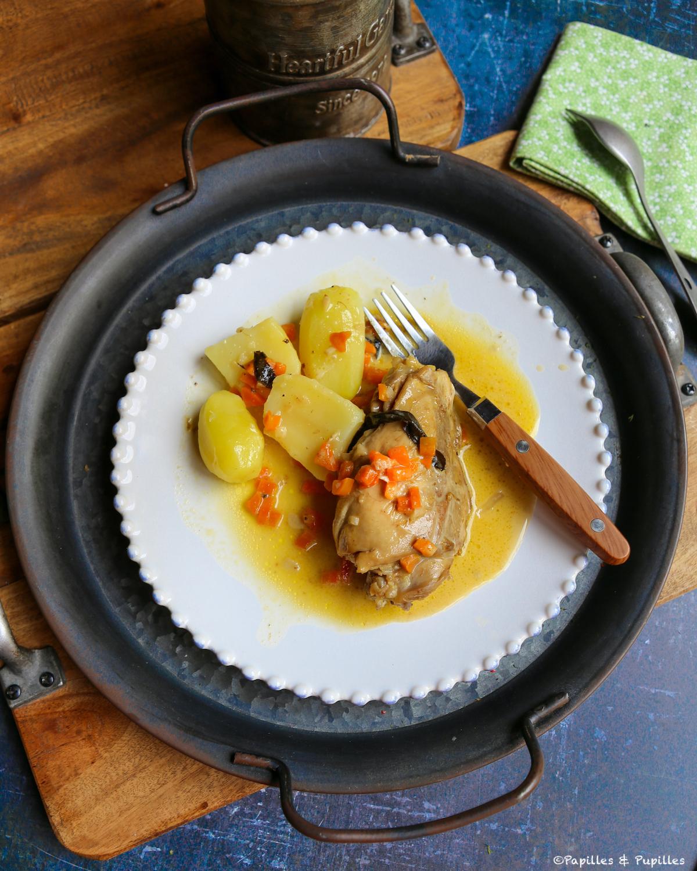 Cuisses de poulet à l'estragon
