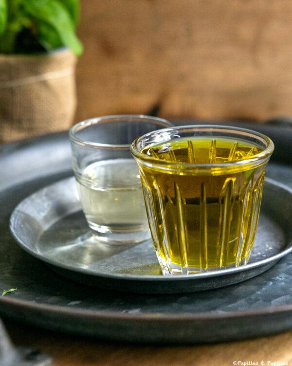 Huile d'olive et balsamique blanc