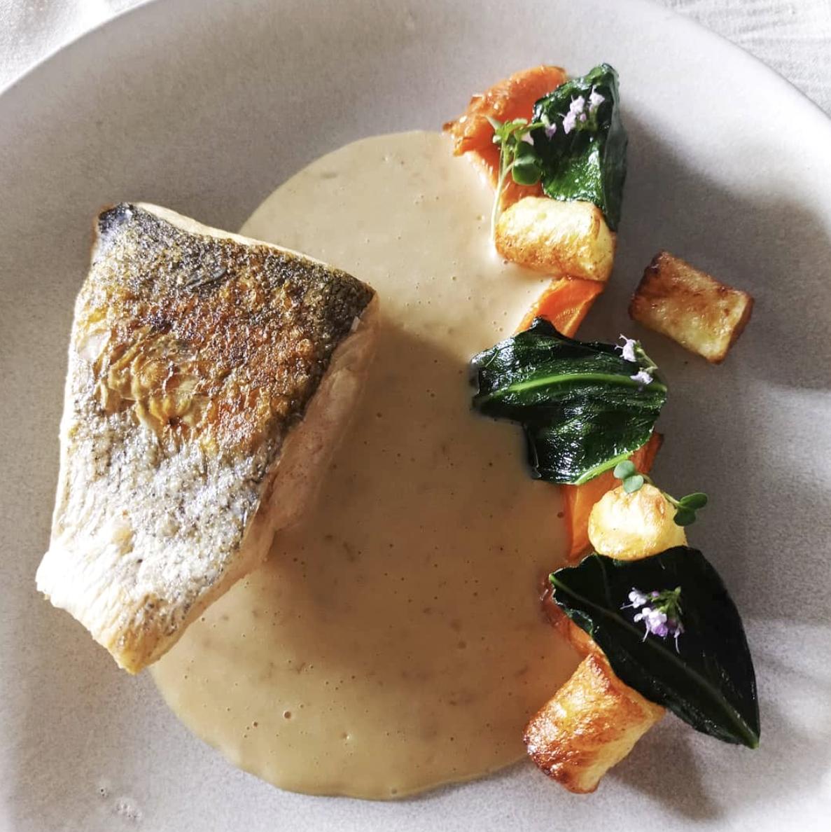Sandre au beurre blanc ©Restaurant Clémence
