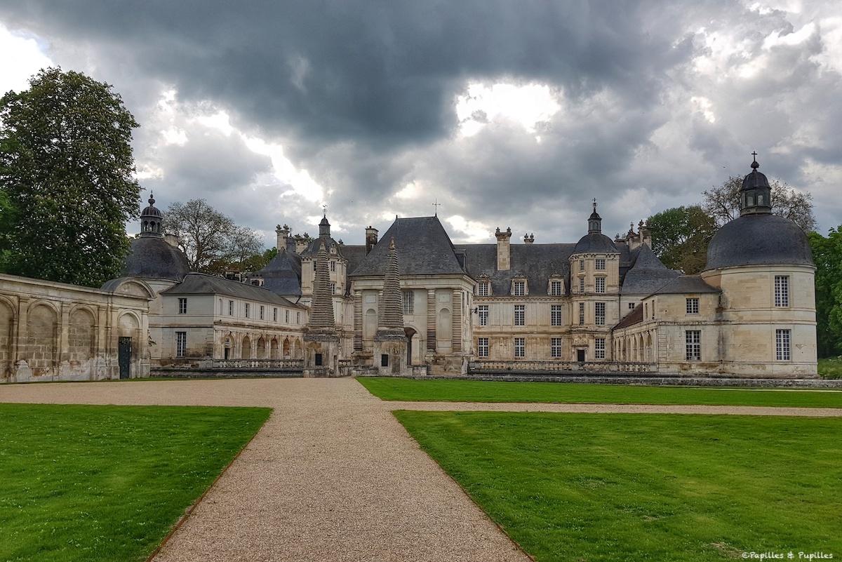Château de Tanlay - Orage