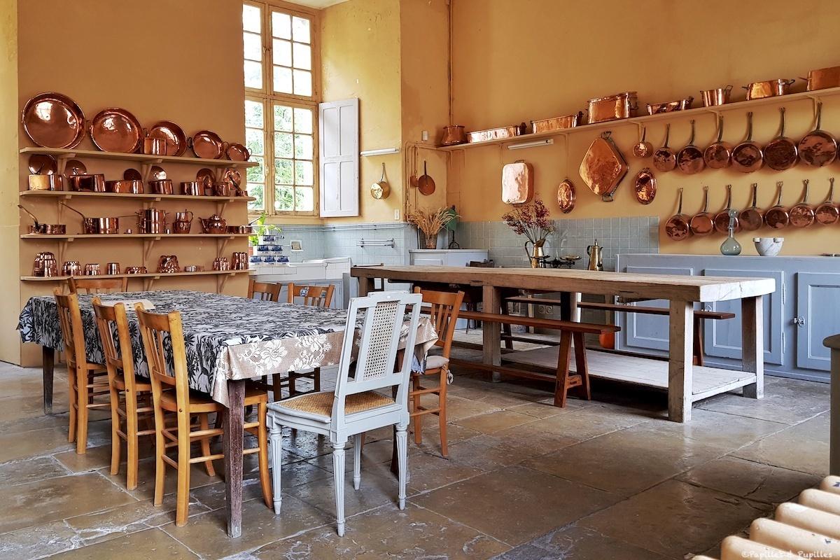 Cuisine du Château de Tanlay