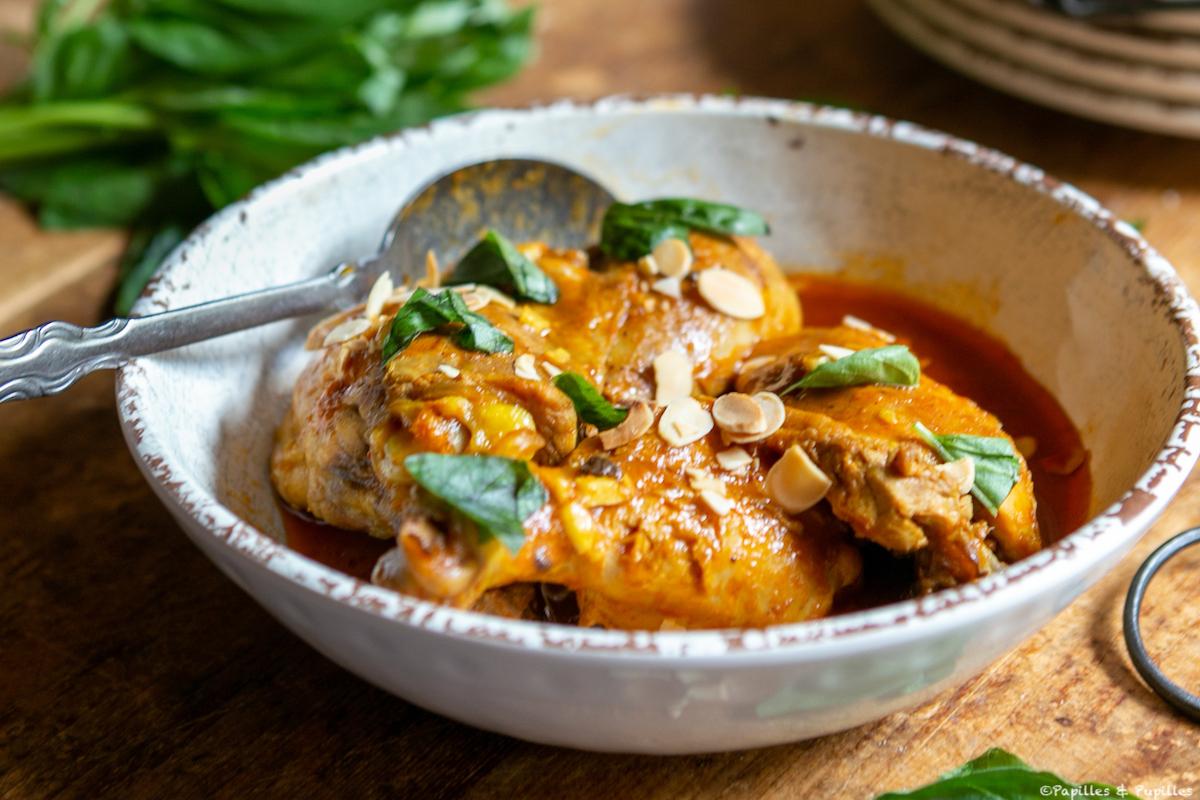 Cuisses de poulet aux épices