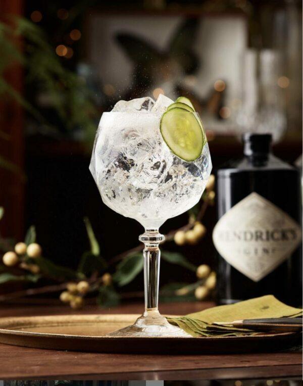 Gin Tonic au Concombre ©Hendricks