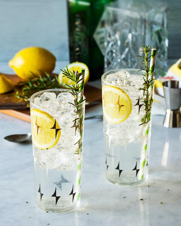 Gin fizz citron romarin ©viennetta shutterstock