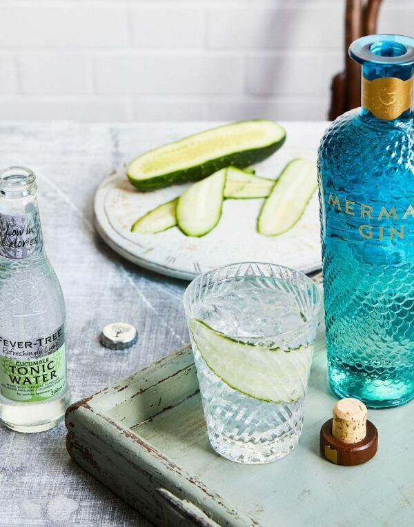 Gin tonic au concombre ©Fever-tree