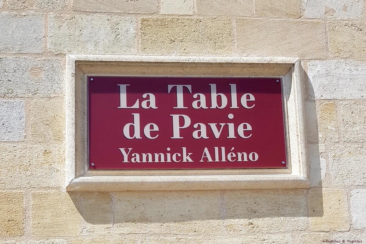 La Table de Pavie - Yannick Alleno