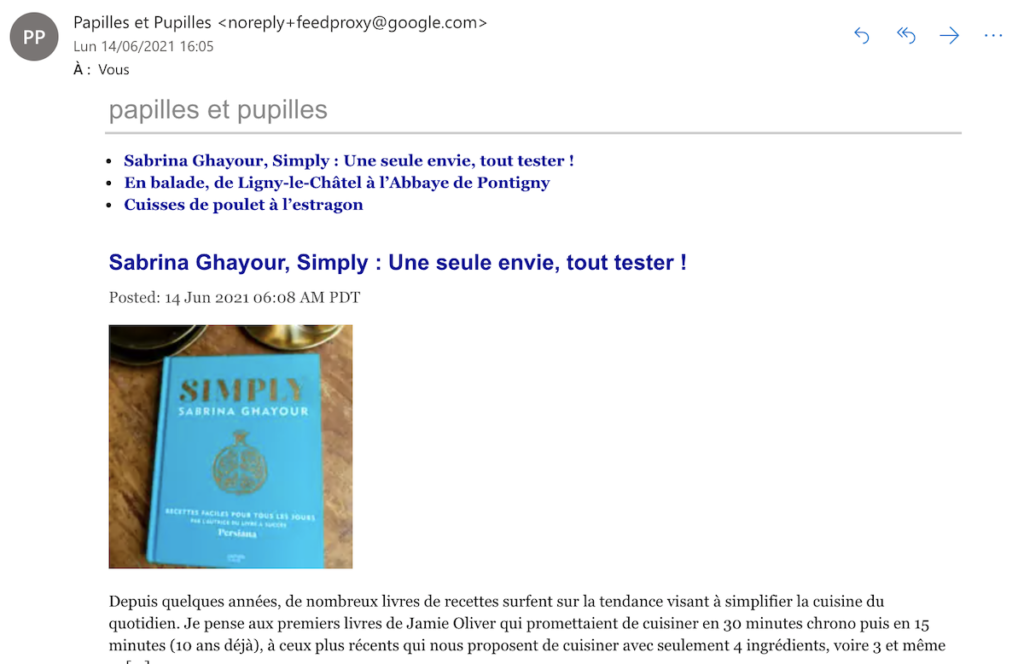 Newsletter Papille et Pupilles