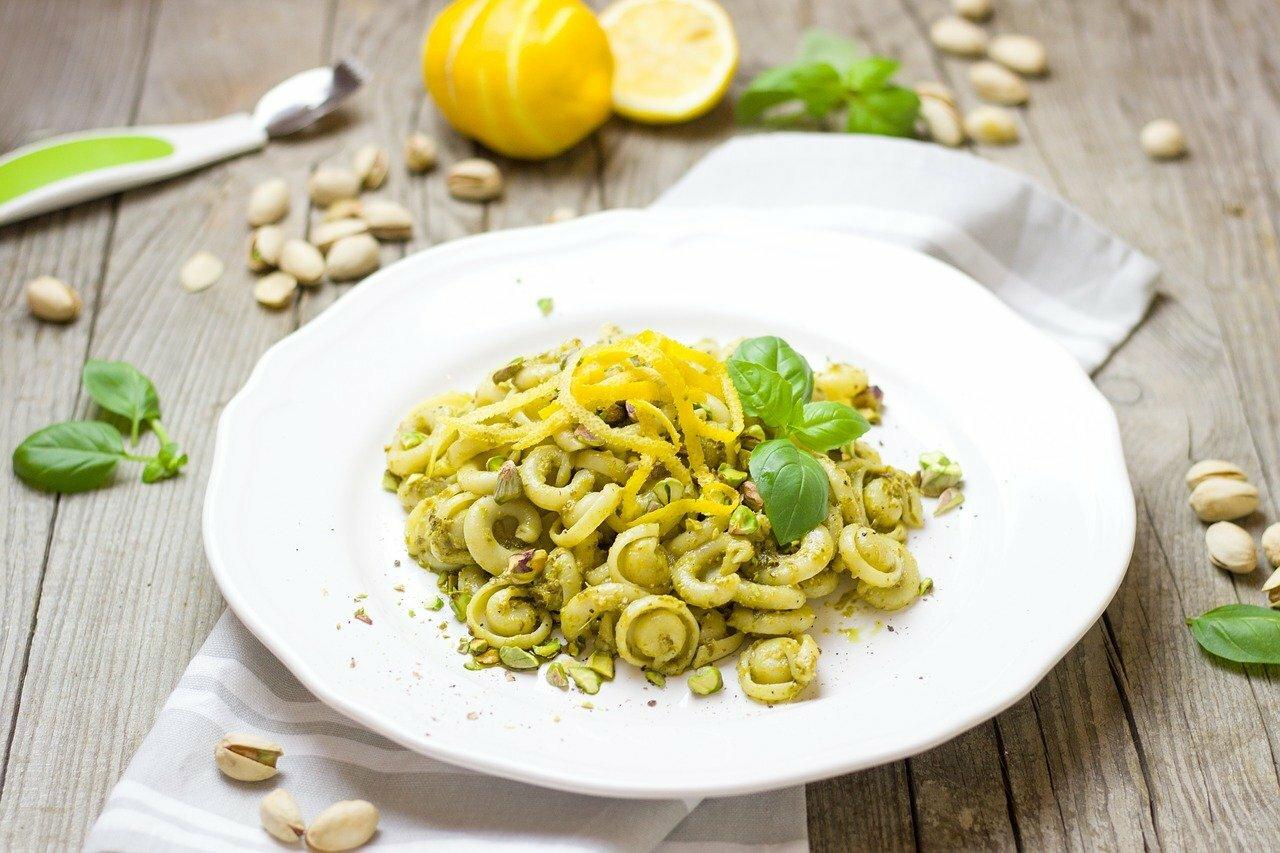 Pâtes au pesto de pistaches © Bernadette Wurzinger de Pixabay