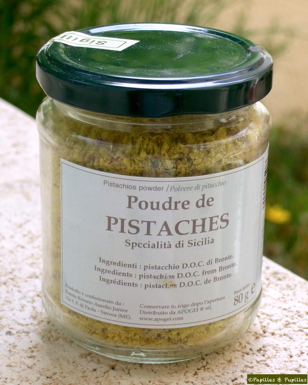 Poudre de pistaches