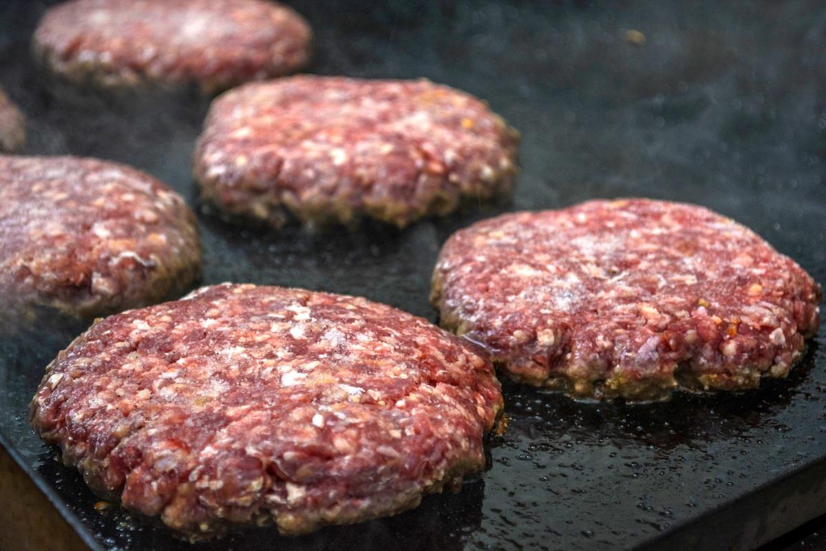 Steaks hachés CC0 Pxhere