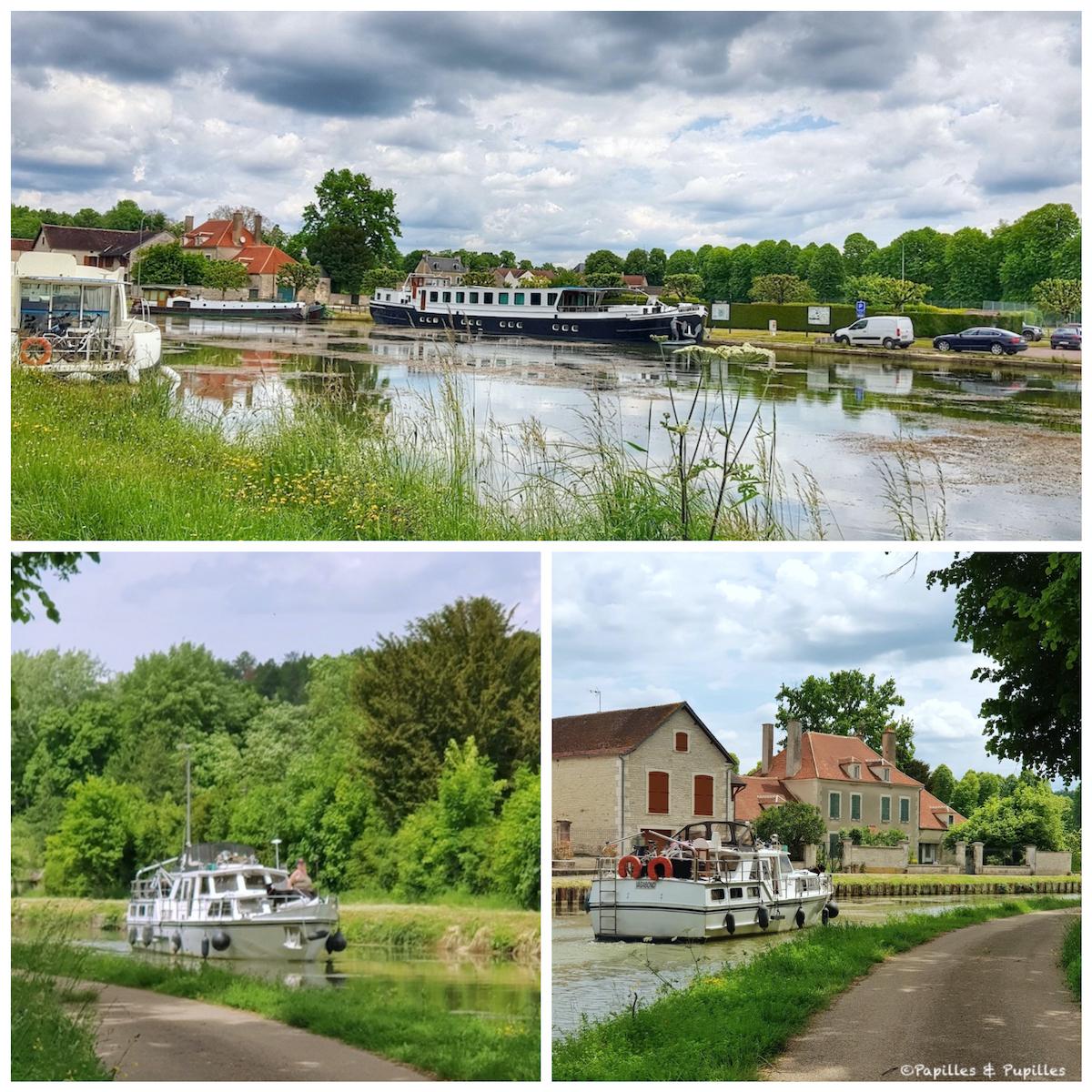 Tourisme Fluvial sur le canal de Bourgogne