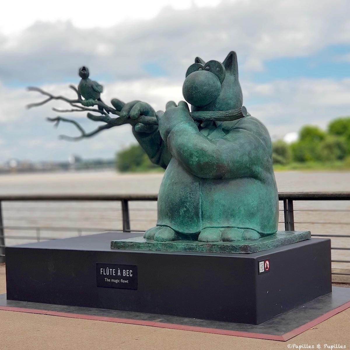 La flûte à bec - Le Chat - Geluck