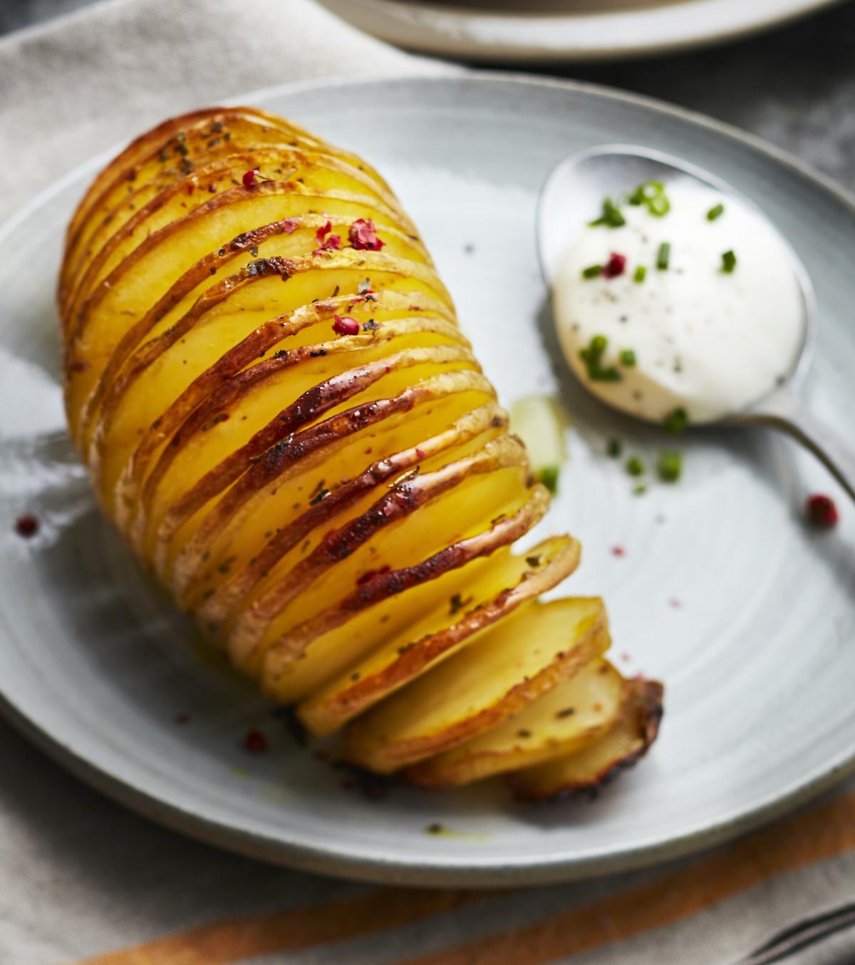 Pommes de terre Hasselback ©UE CNIPT Amélie Roche
