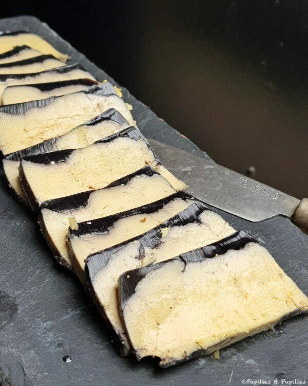 Foies gras en gelée de Malbec