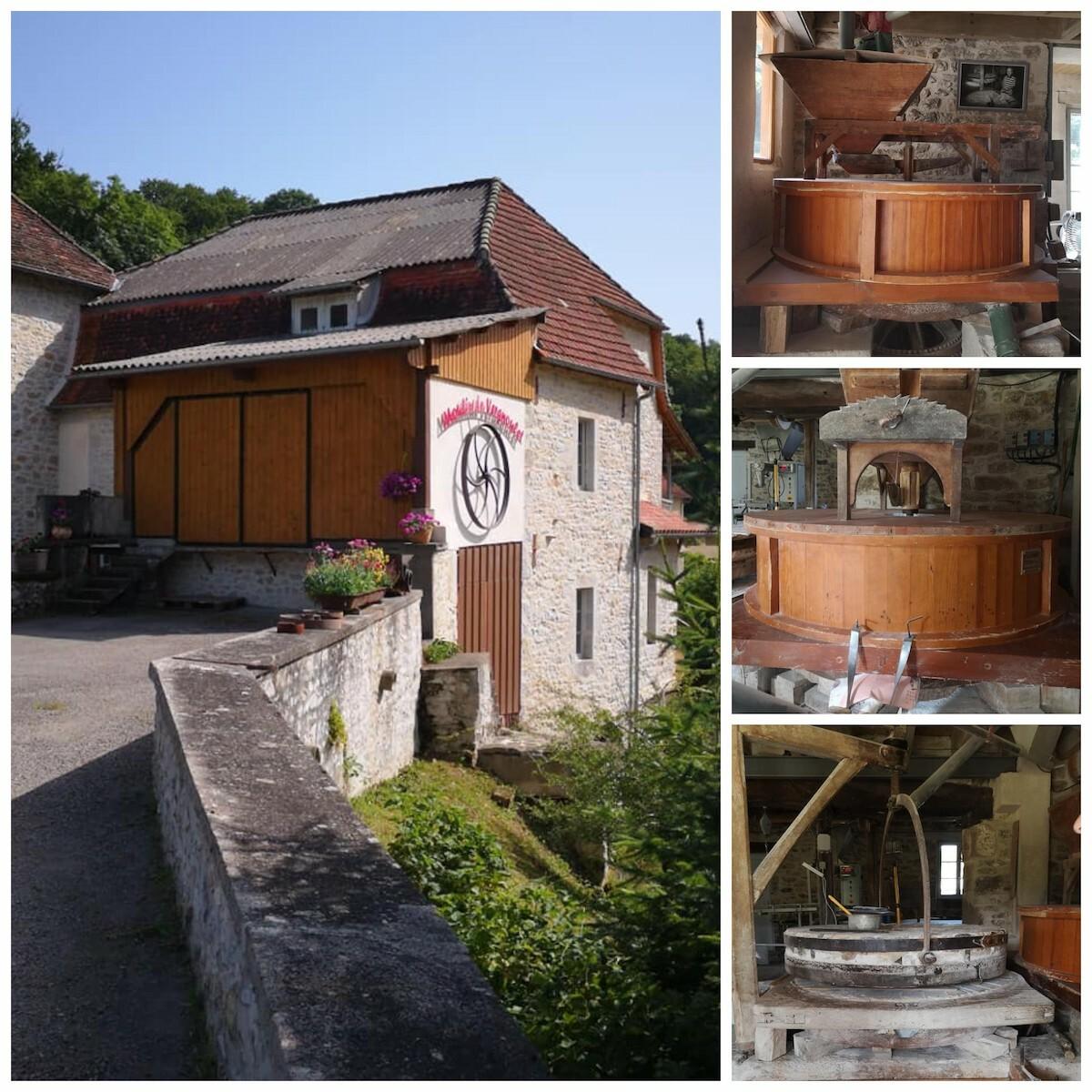 Moulin de Vergnoulet à Mayrinhac-Lentour