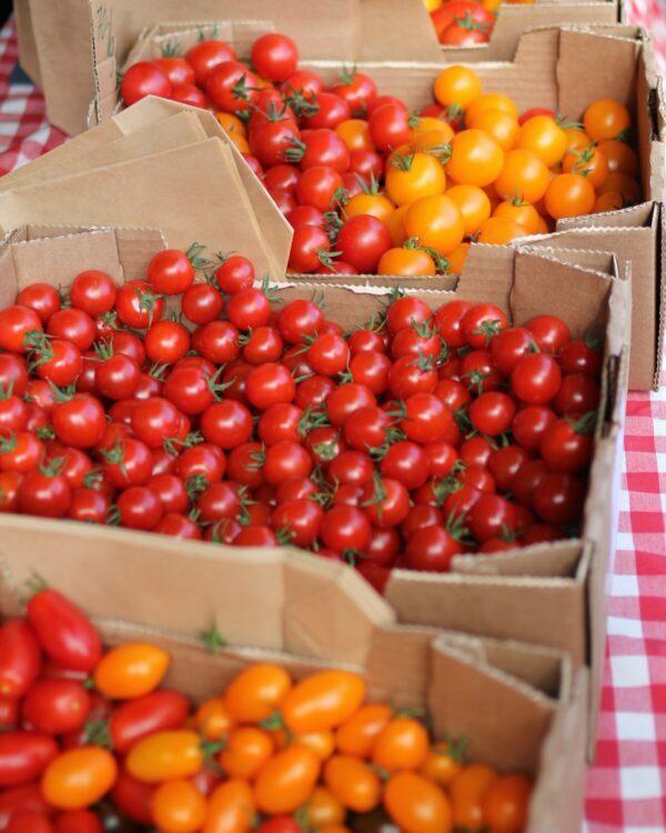 Tomates cerises ©Robert Kalinagil on Unsplash