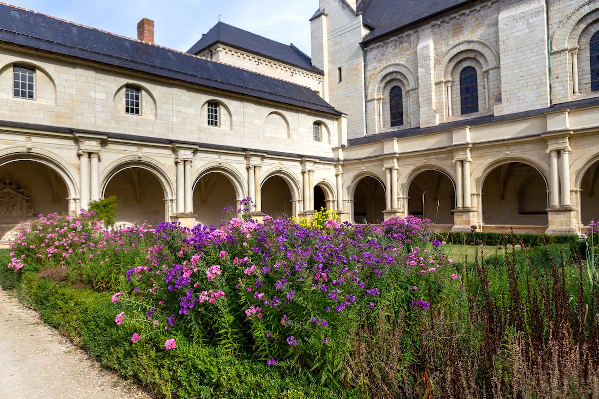 Cloître - Abbaye de Fontevraud